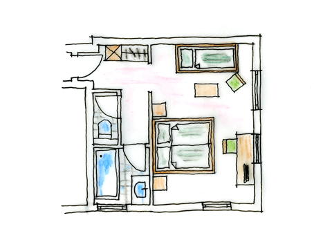 Ground plan Family Room